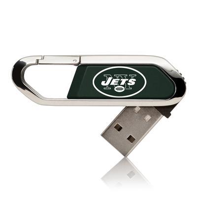 New York Jets Solid Clip USB Flash Drive