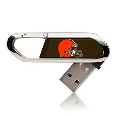 Cleveland Browns Solid Clip USB Flash Drive
