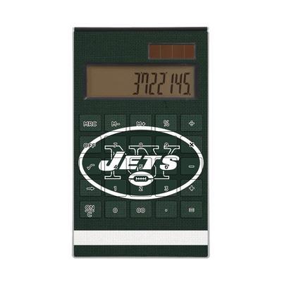 New York Jets Stripe Design Desktop Calculator