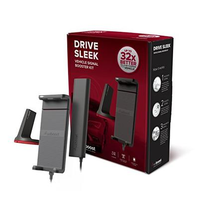 weBoost Drive Sleek 470135 Cell Phone Signal Booster for Your Car and Truck - Enhance Your Cell Phon