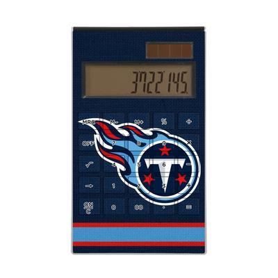 Tennessee Titans Stripe Design Desktop Calculator