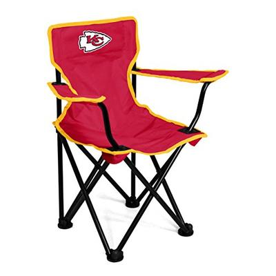 Logo Brands NFL Kansas City Chiefs Toddler Chair, One Size, Red