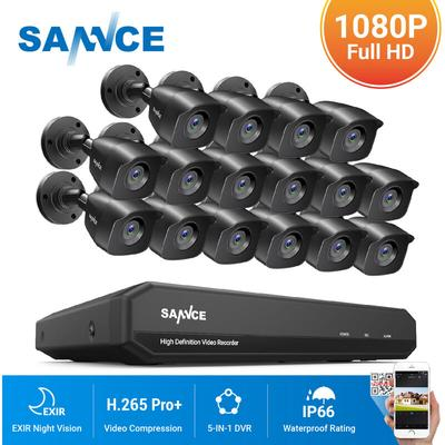 16CH 1080P HD Security System Wi...