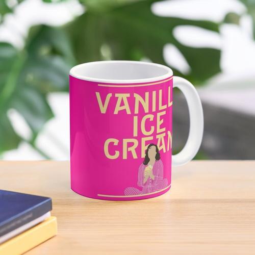 Vanille-Eiscreme... Tasse