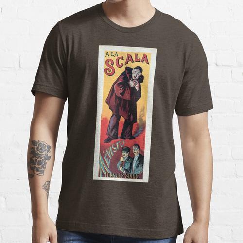 Mévisto bei La Scala Französische vertikale Werbebanner Essential T-Shirt