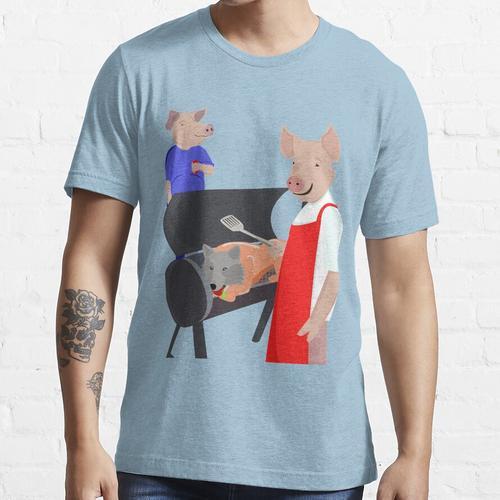 BBQ Schweinebraten Essential T-Shirt