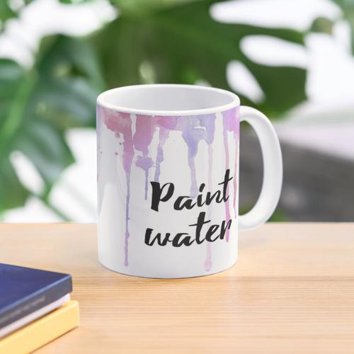 Malen Sie Wasserbecher Tasse
