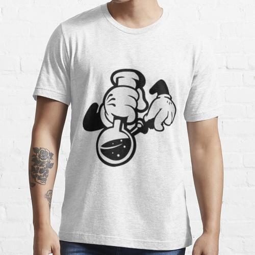 Mickey Mouse Smoking Weed mit Shisha Essential T-Shirt