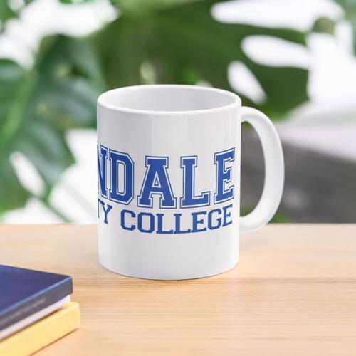 GREENDALE College Jersey (blau) Tasse