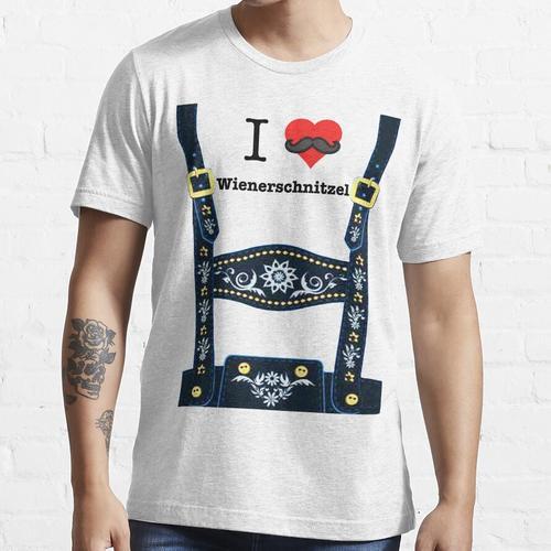 Lederhosen - Blau Essential T-Shirt