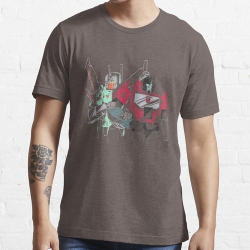 der Strahl und das Mikroskop Essential T-Shirt