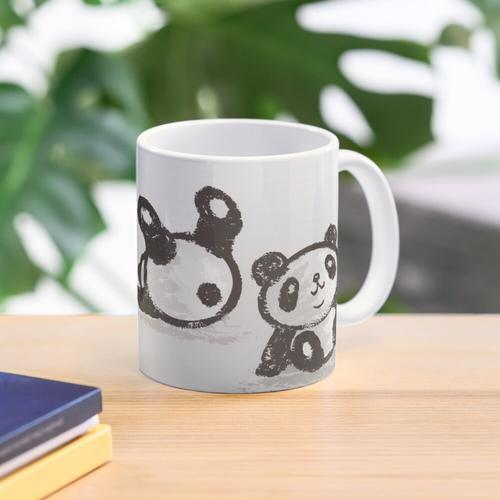 Rollender Panda Tasse