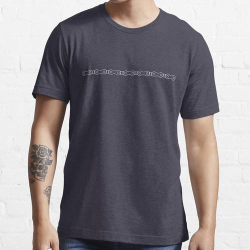 Fahrrad-Kettenlinie Essential T-Shirt