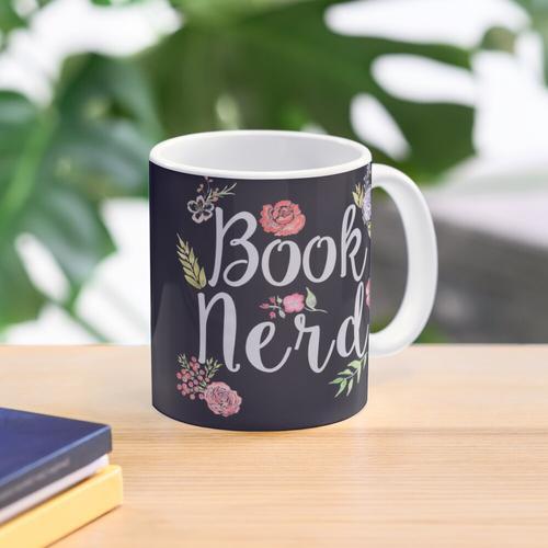 Buch Nerd Reverse Tasse