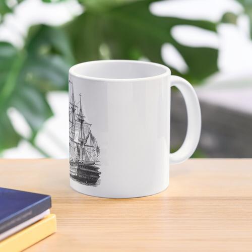 HMS Schiff der Linie Tasse