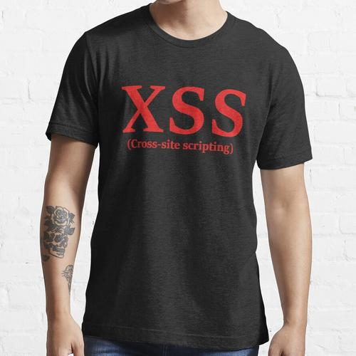 XSS (Cross-Site-Scripting) Essential T-Shirt