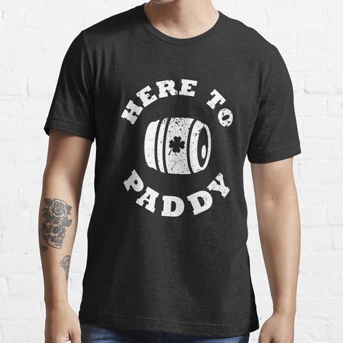 Bierfass hier zum Paddy Essential T-Shirt