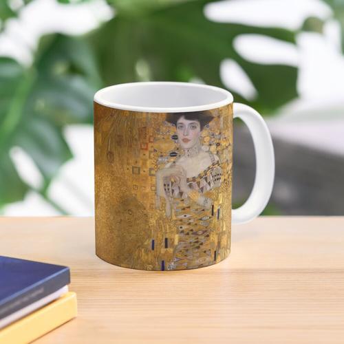 Klimt - Frau in Gold - Der Kuss Tasse
