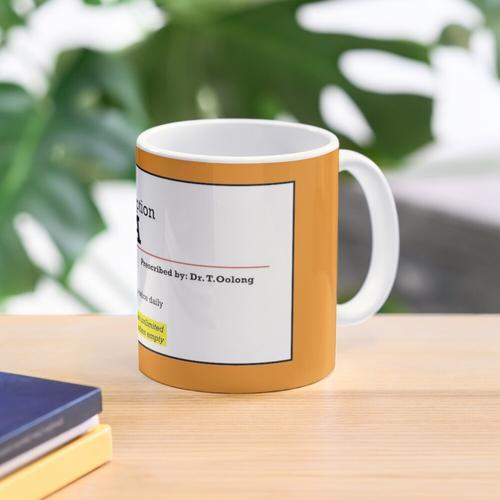 Rx Rezept Tee Tasse