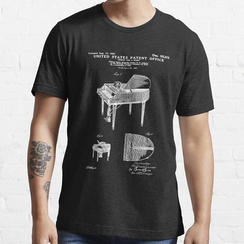 Wurlitzer Klavierpatent weiß Essential T-Shirt