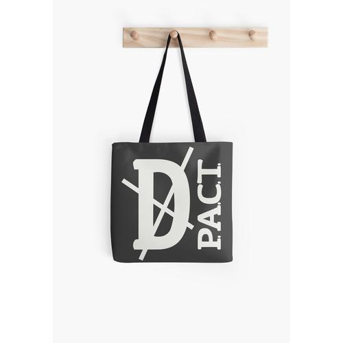 Tod P.A.C.T. (Aufhänger Logo) Tasche