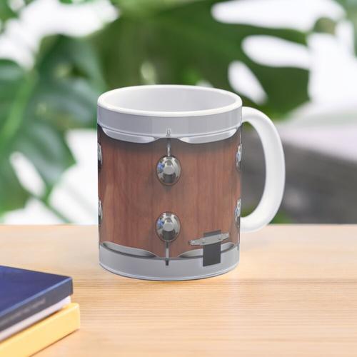Snare Drum Becher - Holzschale Tasse
