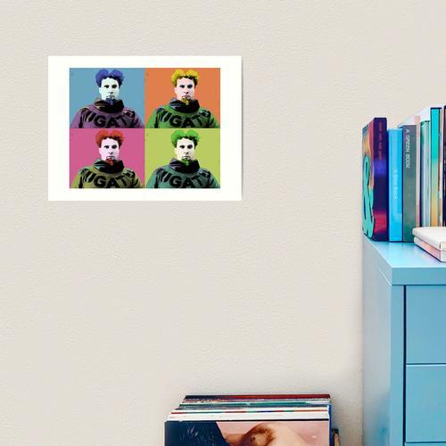 Mugatu Warhol Kunstdruck