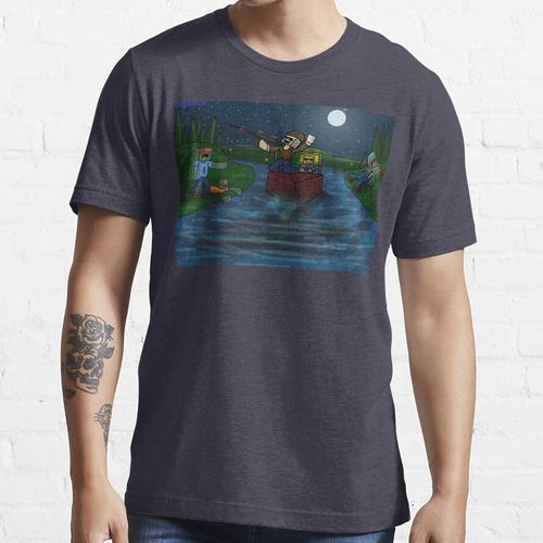 Unturned - von Quikdraw Essential T-Shirt