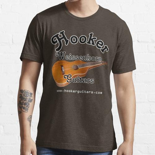 Hooker Weissenborn Gitarren Essential T-Shirt