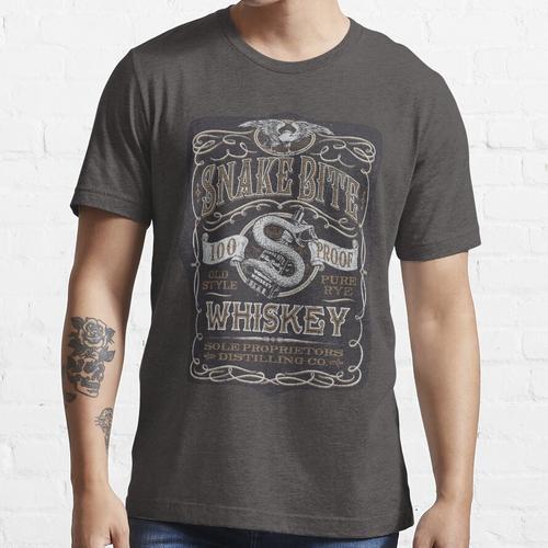 Snakebite Whisky Essential T-Shirt