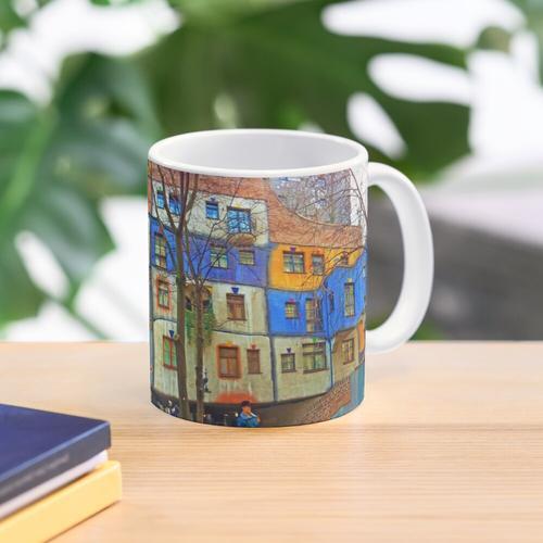 Hundertwasserhaus Wien Tasse