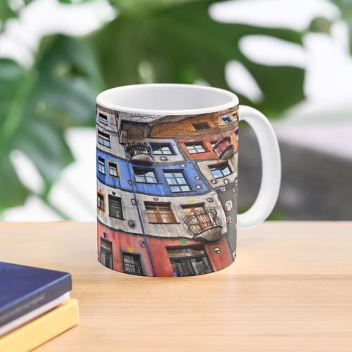 Das Hundertwasserhaus - Wien Tasse