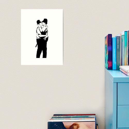 Banksy Panda Kunstdruck