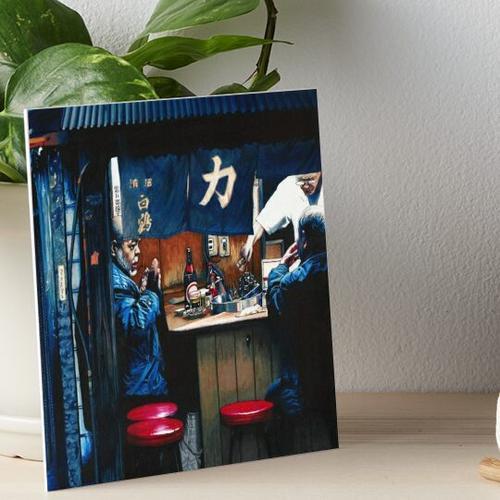 Yakitori Galeriedruck