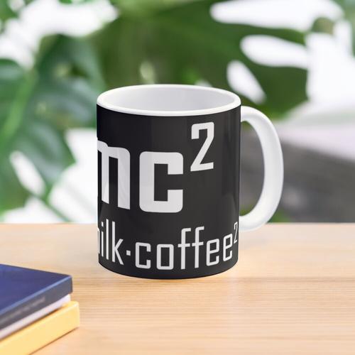 E = mc2 - Lustiger Physik-Witz Tasse