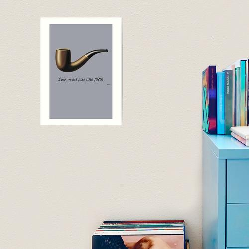 Magritte, das ist keine Pfeife Kunstdruck