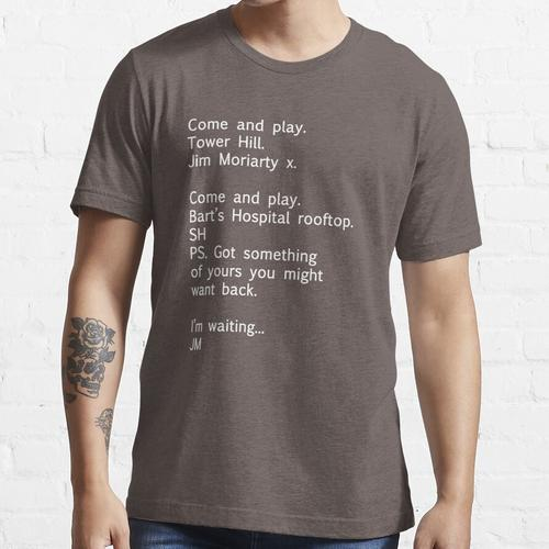 Reichenbach Text 1 Essential T-Shirt