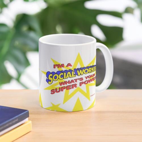 Super Sozialarbeiter Tasse