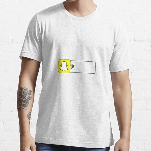 Füge mich auf Snapchat Sticker hinzu Essential T-Shirt