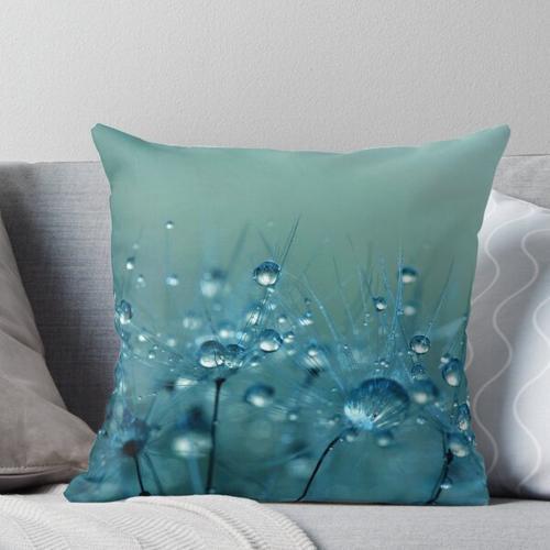Blaue Dusche Kissen