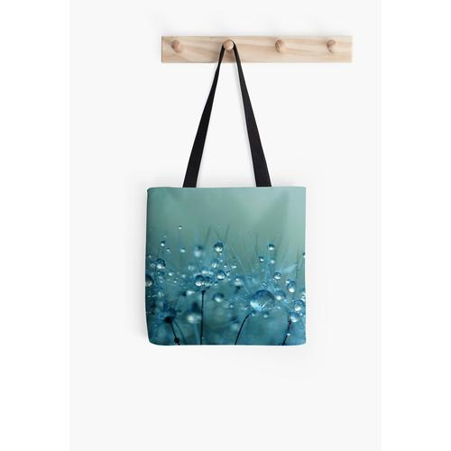 Blaue Dusche Tasche
