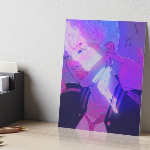 Yoongi - The Audacity Galeriedruck