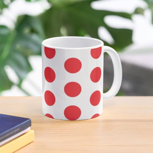 Tour de France - Polka Dot Trikot Tasse