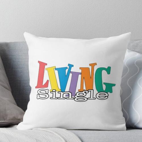 Living Single Logo Kissen