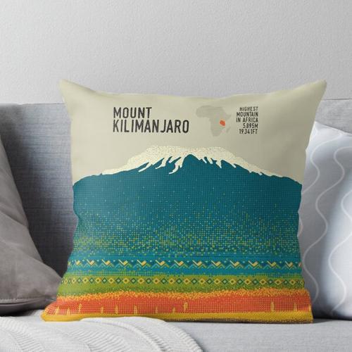 Der Kilimanjaro Kissen