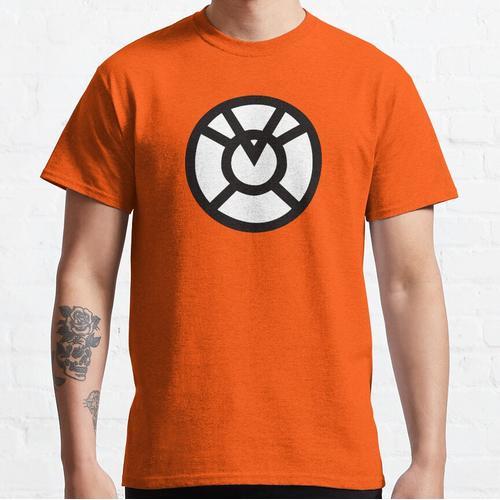 Orange Laterne Geiz-Symbol Classic T-Shirt