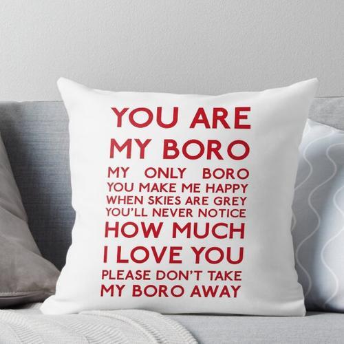 Middlesbrough FC - Du bist mein Boro Kissen