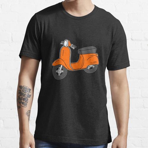 Roller Motorroller Retro Orange Essential T-Shirt
