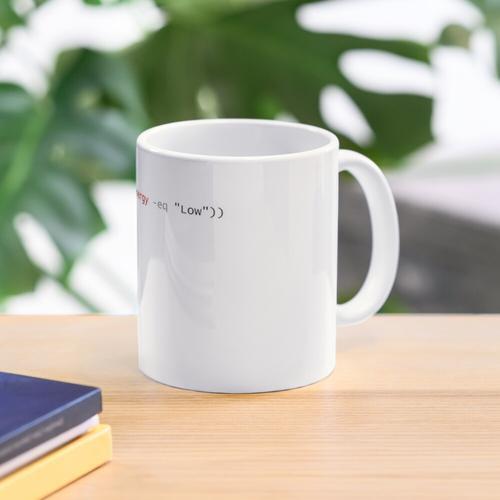 Powershell Kaffee Tasse