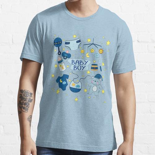 ABDL (Adult Baby Windel Liebhaber) WINDEL JUNGE Collection T Shirt Essential T-Shirt